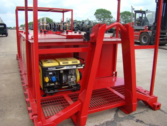 De-mountable Skid Lube / Service Station  for sale. The UK MOD Direct Sales