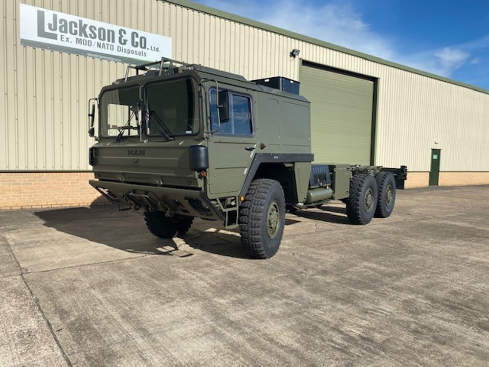 MAN CAT A1 6x6 LHD Chassis Cab Trucks | Military Land Rovers 90, 110,130, Range Rovers, Mercedes for Sale