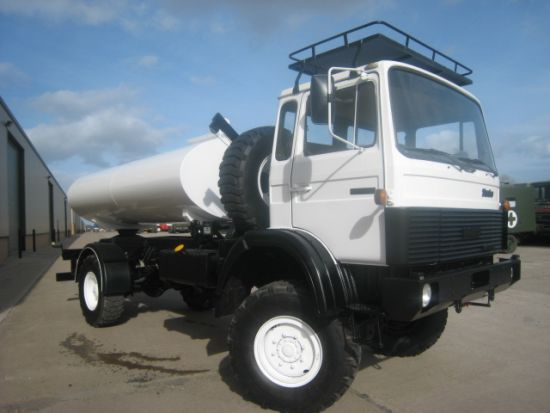 Iveco 110 - 16 tanker truck 5,000 litre capacity | Military Land Rovers 90, 110,130, Range Rovers, Mercedes for Sale
