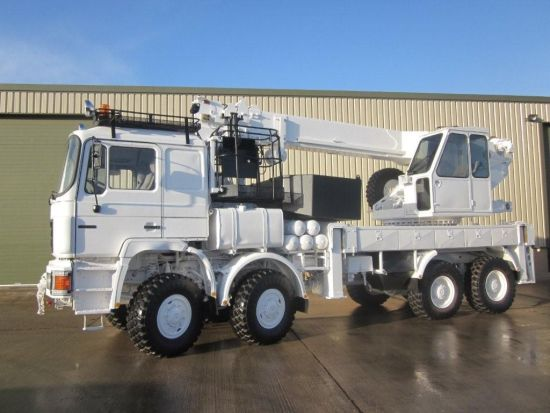 MAN 41.372 8x8 LHD recovery/ 28t crane truck | used military vehicles, MOD surplus for sale