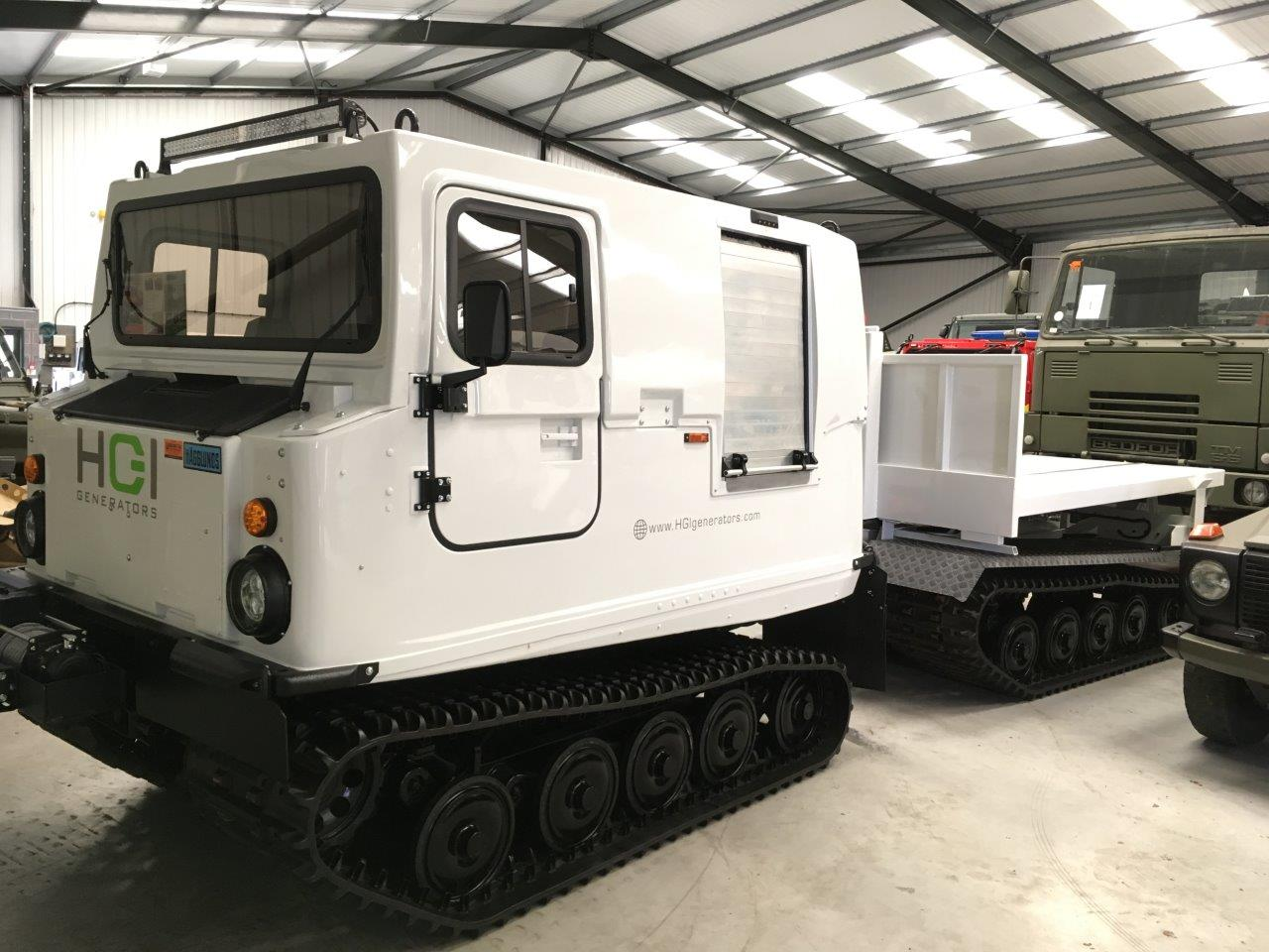 Hagglunds Bv206 DROPS Body Unit | used military vehicles, MOD surplus for sale
