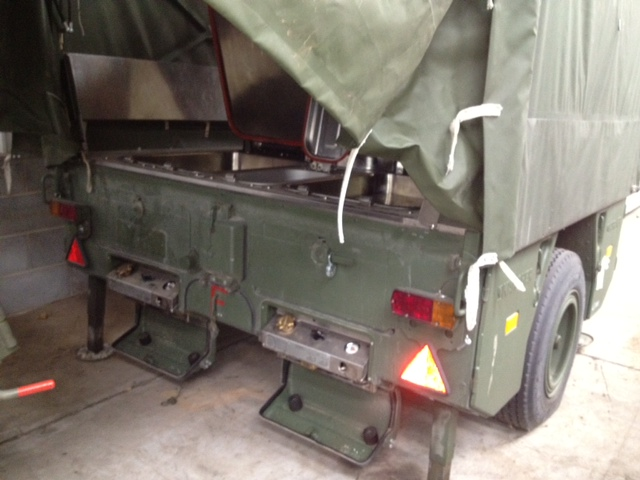 Karcher TFK 250 army mobile field kitchen trailer | used military vehicles, MOD surplus for sale