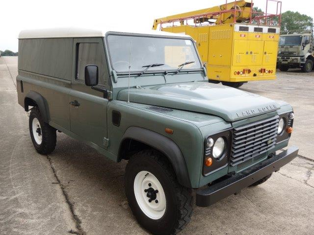 Land Rover Defender 110 TDCi Hard Top | used military vehicles, MOD surplus for sale