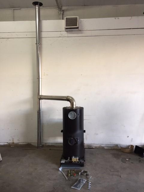 Deville - Multi Fuel Heater for sale