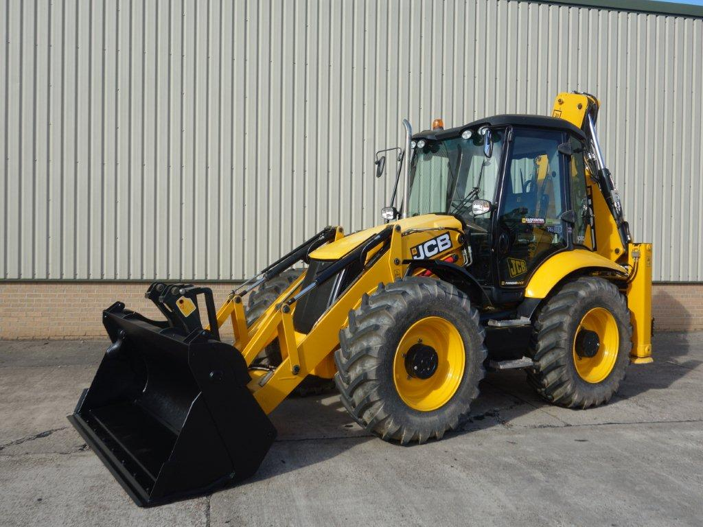 JCB 4CX Sitemaster Backhoe Loader 2015 for sale