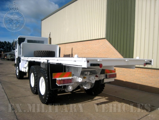 Volvo FL12 6x6  cargo platform truck | used military vehicles, MOD surplus for sale