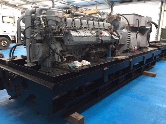 MTU 2500 KVA Generator sets for sale | military vehicles