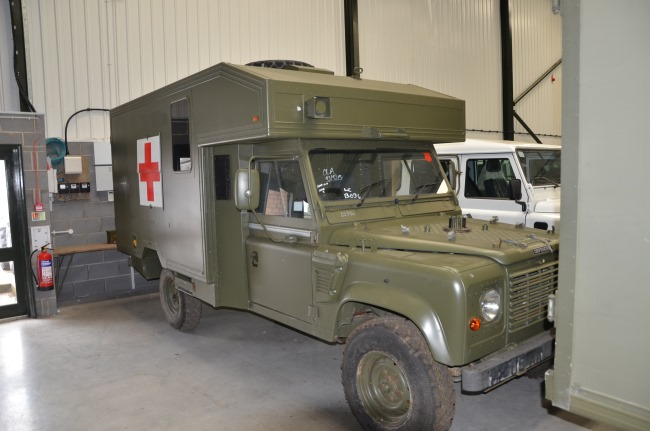 Land Rover 130 Defender Wolf RHD Evac Unit | used military vehicles, MOD surplus for sale