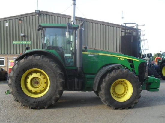 SOLD John Deere 8330 Tractor | used military vehicles, MOD surplus for sale