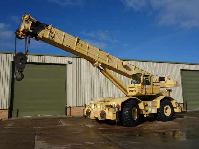 Grove Rough Terrain RT 760 Crane for sale | military vehicles