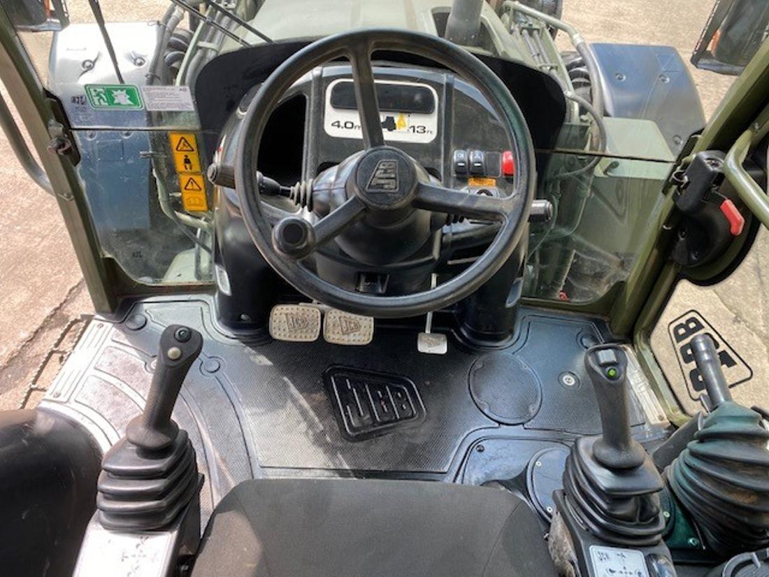 JCB 4CX Sitemaster Backhoe Loader   used military vehicles, MOD surplus for sale