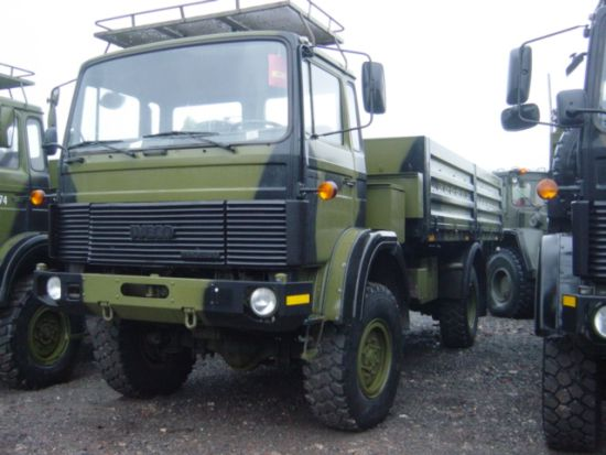 Iveco 110-17 4x2 Drop Side Cargo Truck Ex military vehicles for sale, Mod Sales, M.A.N military trucks 4x4, 6x6, 8x
