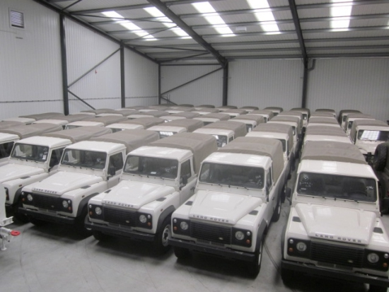 WAS SOLD New Land Rover Defender 110 pick up LHD puma