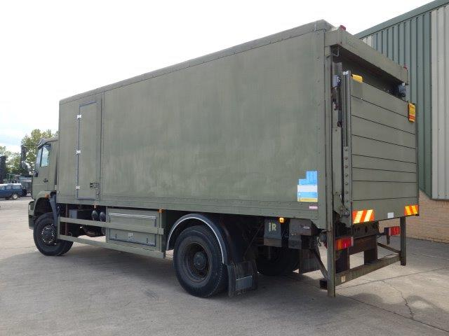 MAN 18.225 4X4 box truck | used military vehicles, MOD surplus for sale