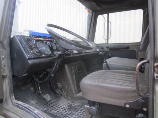 Mercedes unimog U1300L PTO winch truck 4x4 | used military vehicles, MOD surplus for sale