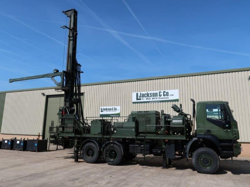 Iveco Trakker 6x6 Dando 12.8 Drilling Rig for sale | military vehicles