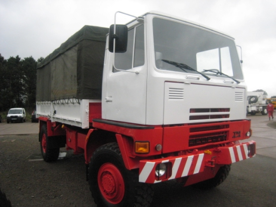 SOLD Bedford TM 4x4 Drop Side Cargo truck | used military vehicles, MOD surplus for sale