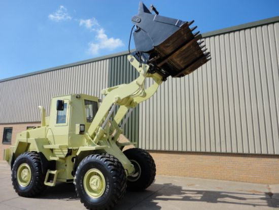 Case 721 CXT Armoured Wheeled loader for sale | military vehicles