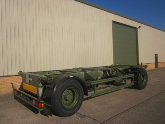 Eichkorn 20ft 20,000 kg container trailer | used military vehicles, MOD surplus for sale