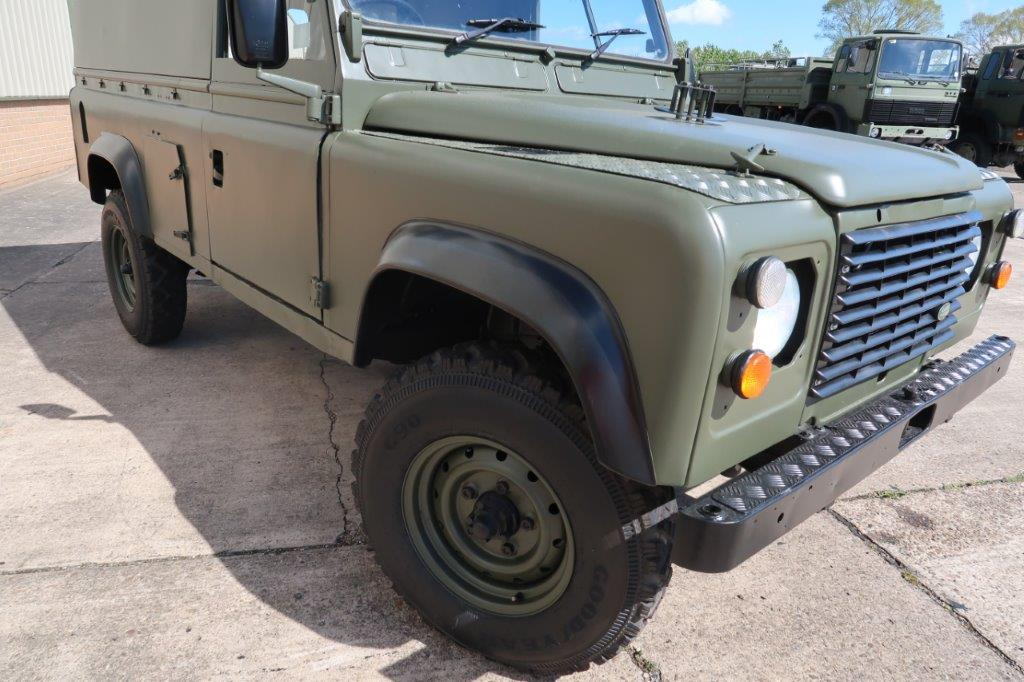 Land Rover Defender 110 RHD Hard top   used military vehicles, MOD surplus for sale