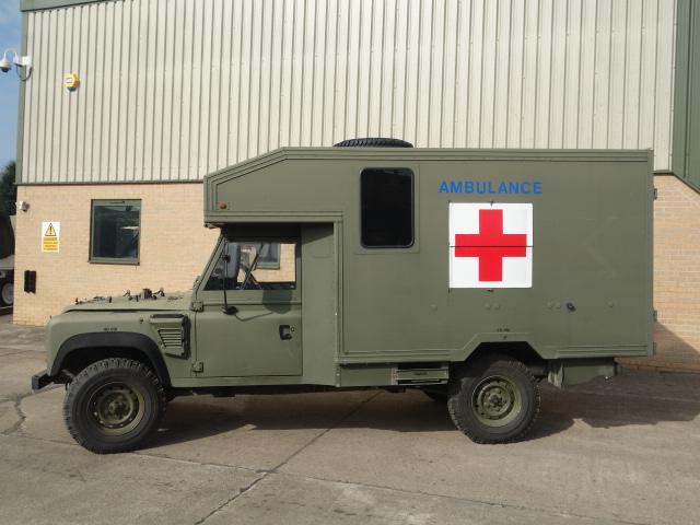 Land Rover 130 Defender Wolf RHD Ambulance  for sale