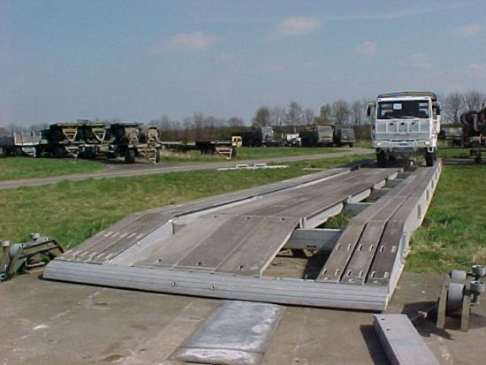 KB4 Aluminium Military Bridging  for sale . The UK MOD Direct Sales