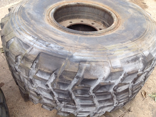 Michelin 14.00R24 tyres (Unused)  for sale. The UK MOD Direct Sales