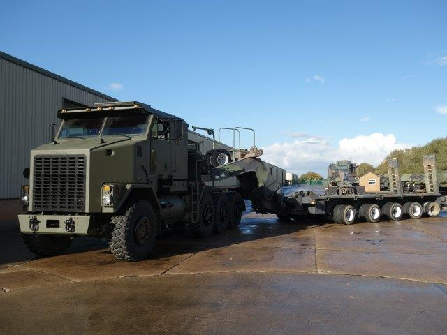 M1000 HETS 40-wheel, Semi-trailer heavy equipment transporter for sale | military vehicles
