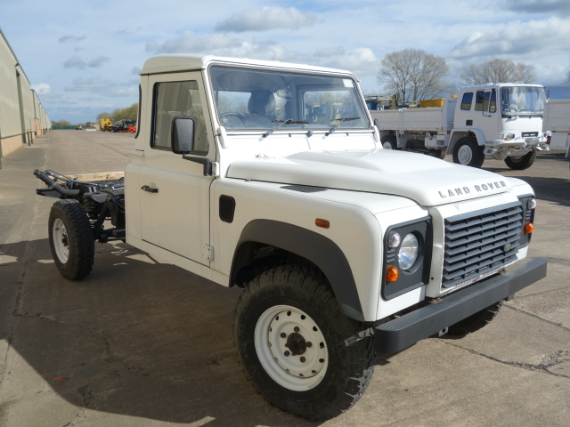 New Land Rover 130 RHD chassis cab |  EX.MOD direct sales