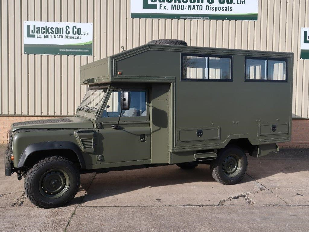 Land Rover Defender 130 Wolf Gun Bus |  EX.MOD direct sales