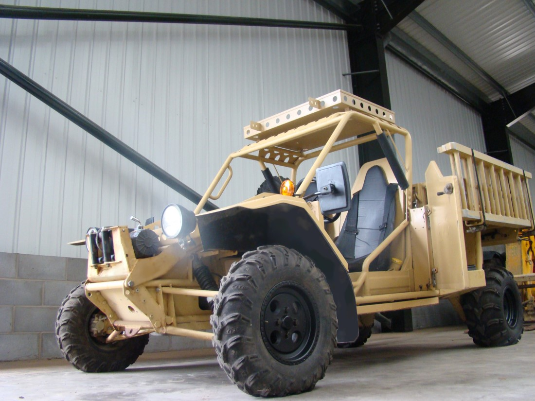 WAS SOLD EPS Springer ATV Armoured Vehicles