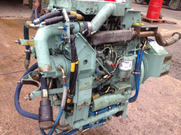 Perkins 4108 Diesel Engine  for sale . The UK MOD Direct Sales