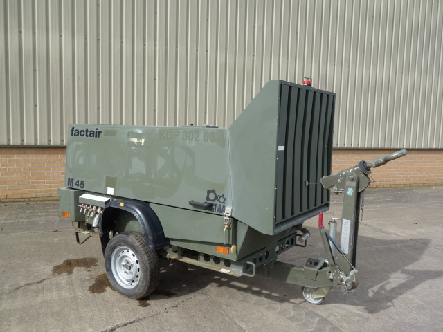SOLD Factair General Purpose Air Compressor | used military vehicles, MOD surplus for sale