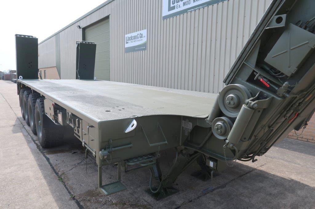 Faun Kassbohrer SLT-50-2 Semi trailer for sale
