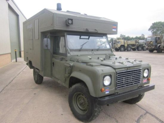Land Rover 130 Defender Wolf RHD Ambulance  for sale . The UK MOD Direct Sales