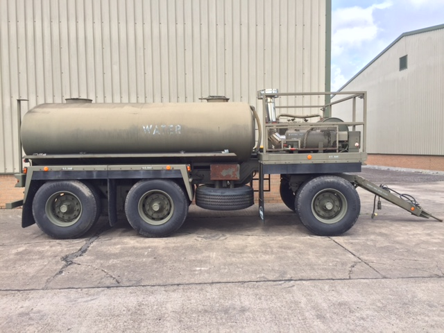 Boughton Water Bowser Trailer with Heating System for sale | military vehicles