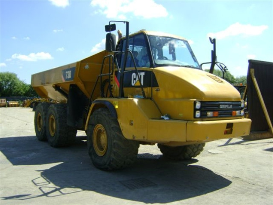 WAS SOLD Caterpillar 730