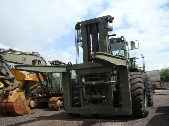 Caterpillar 988 RTCH Rough  terrain container handler | used military vehicles, MOD surplus for sale