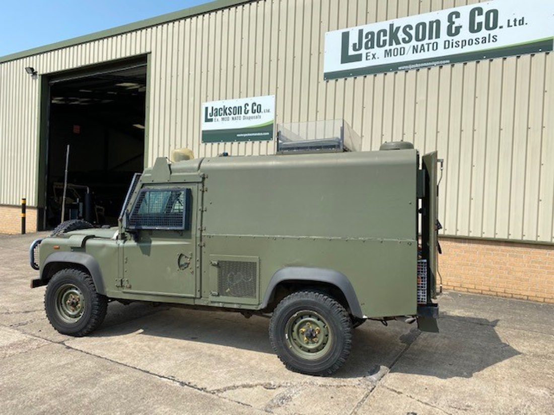 Land Rover Snatch 2A Armoured Defender 110 300TDi for sale
