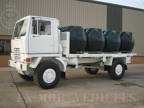 WAS SOLD Bedford TM 4x4 dust supression truck