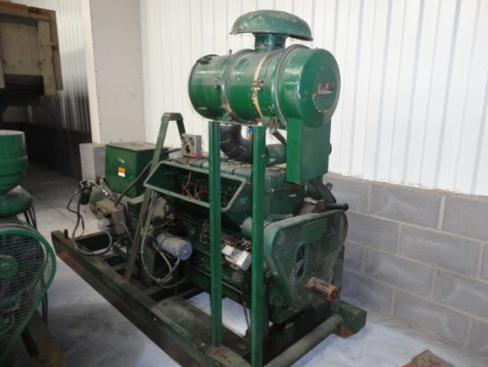 WAS SOLD Lister 50 KVA skid mounted  diesel  generator