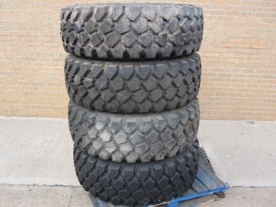 Michelin 395/85 R 20 XZL tyres | Military Land Rovers 90, 110,130, Range Rovers, Mercedes for Sale