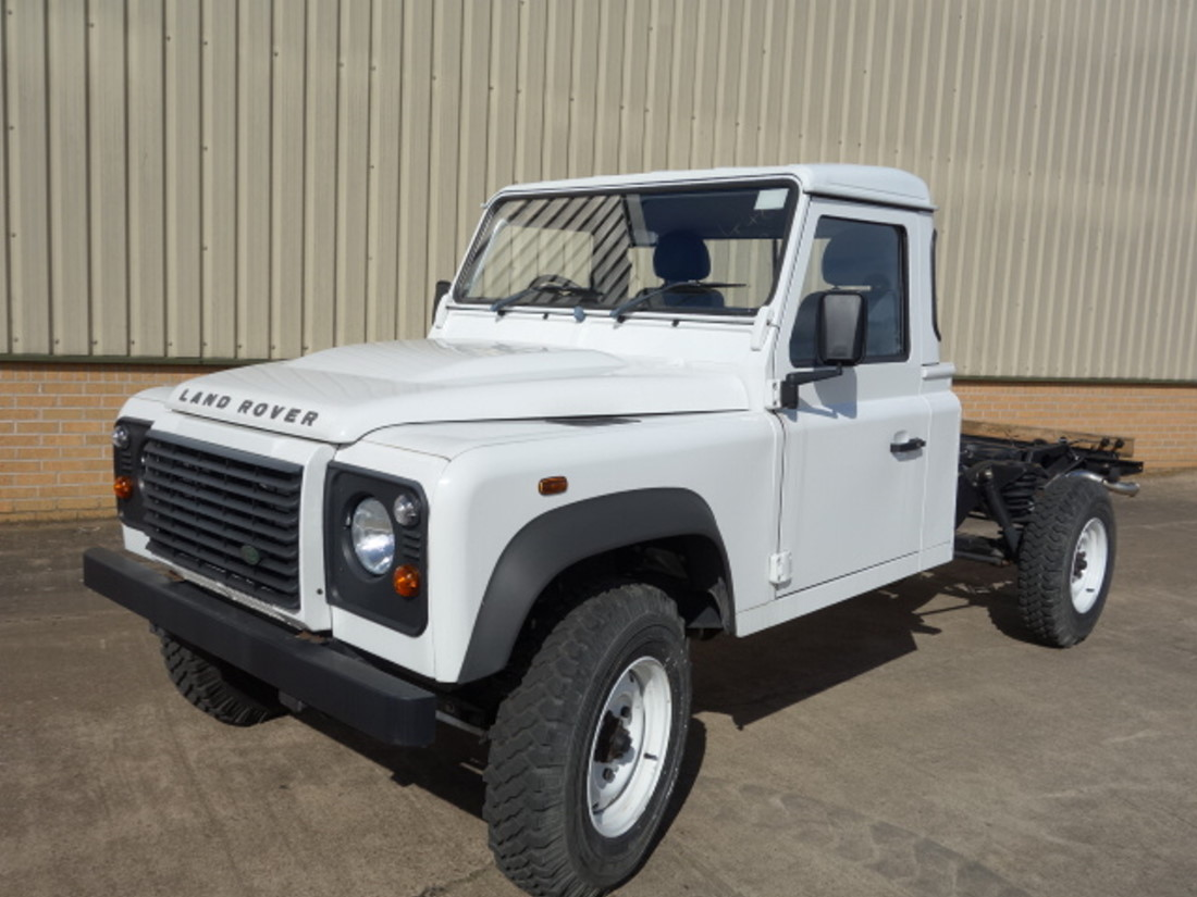 New Land Rover 130 RHD chassis cab for sale | military vehicles