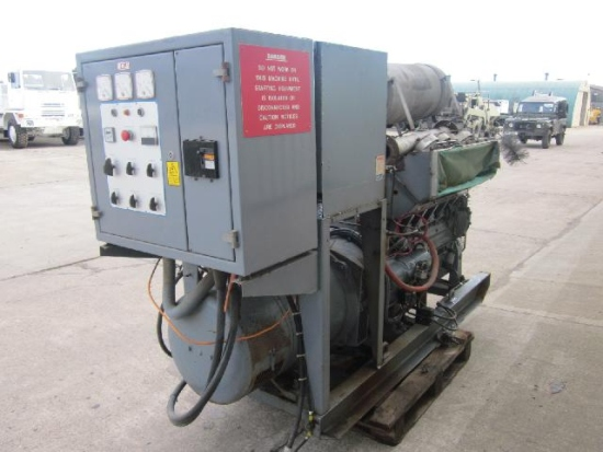 Dale 88 KVA diesel generator set for sale
