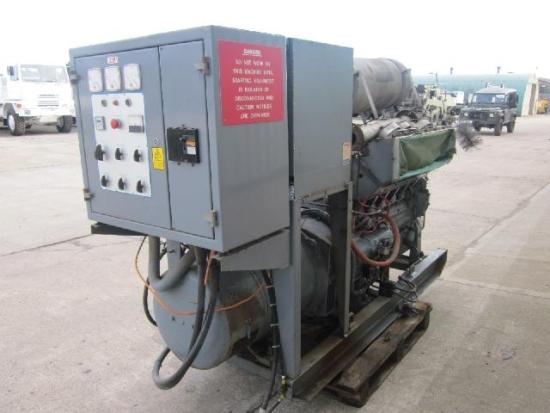 WAS SOLD Dale 88 KVA diesel generator set