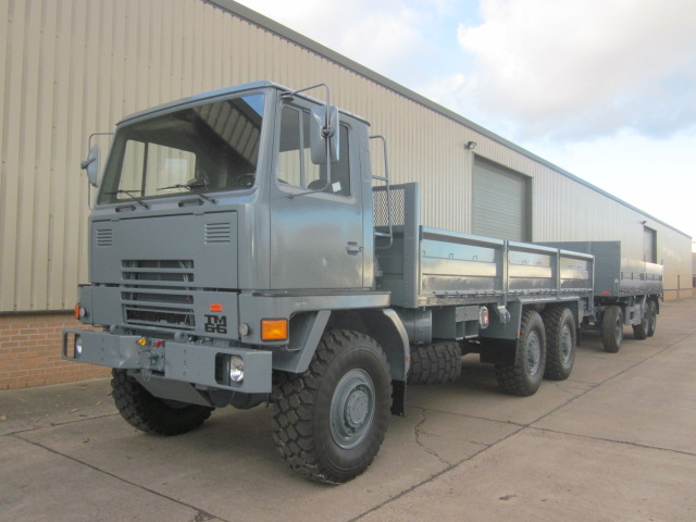 Bedford TM 6x6 Drop Side Cargo Truck  LHD for sale | military vehicles