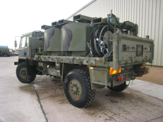 Leyland DAF T45 4x4  bunded tanker - RHD for sale | military vehicles