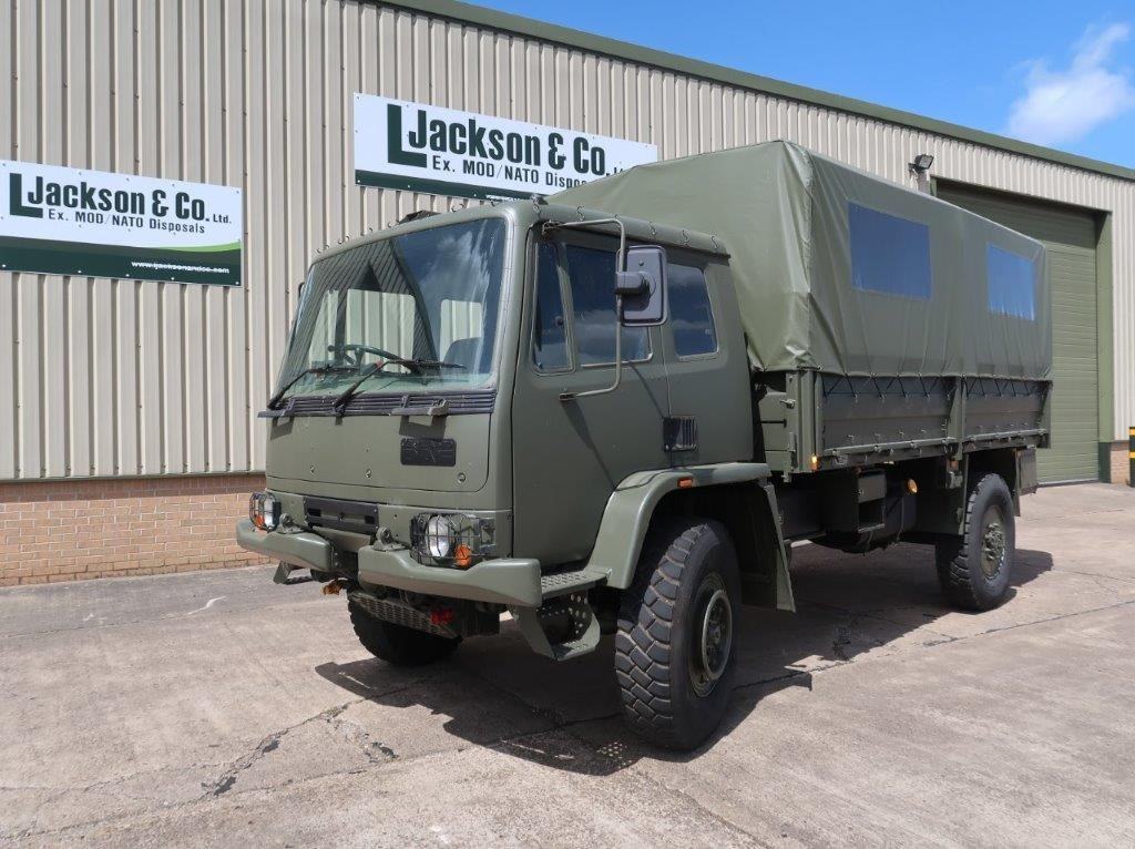 Leyland Daf 45.150 4×4 Troop Carrier/shoot with Canopy & Seats |  EX.MOD direct sales