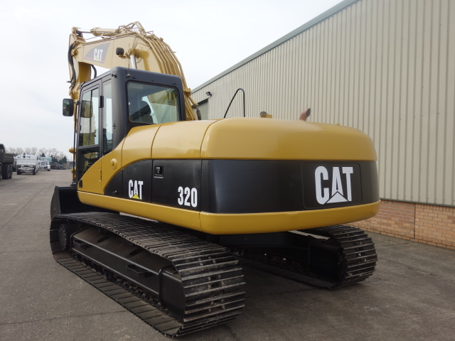 Caterpillar 320 CL Tracked Excavator  for sale. The UK MOD Direct Sales