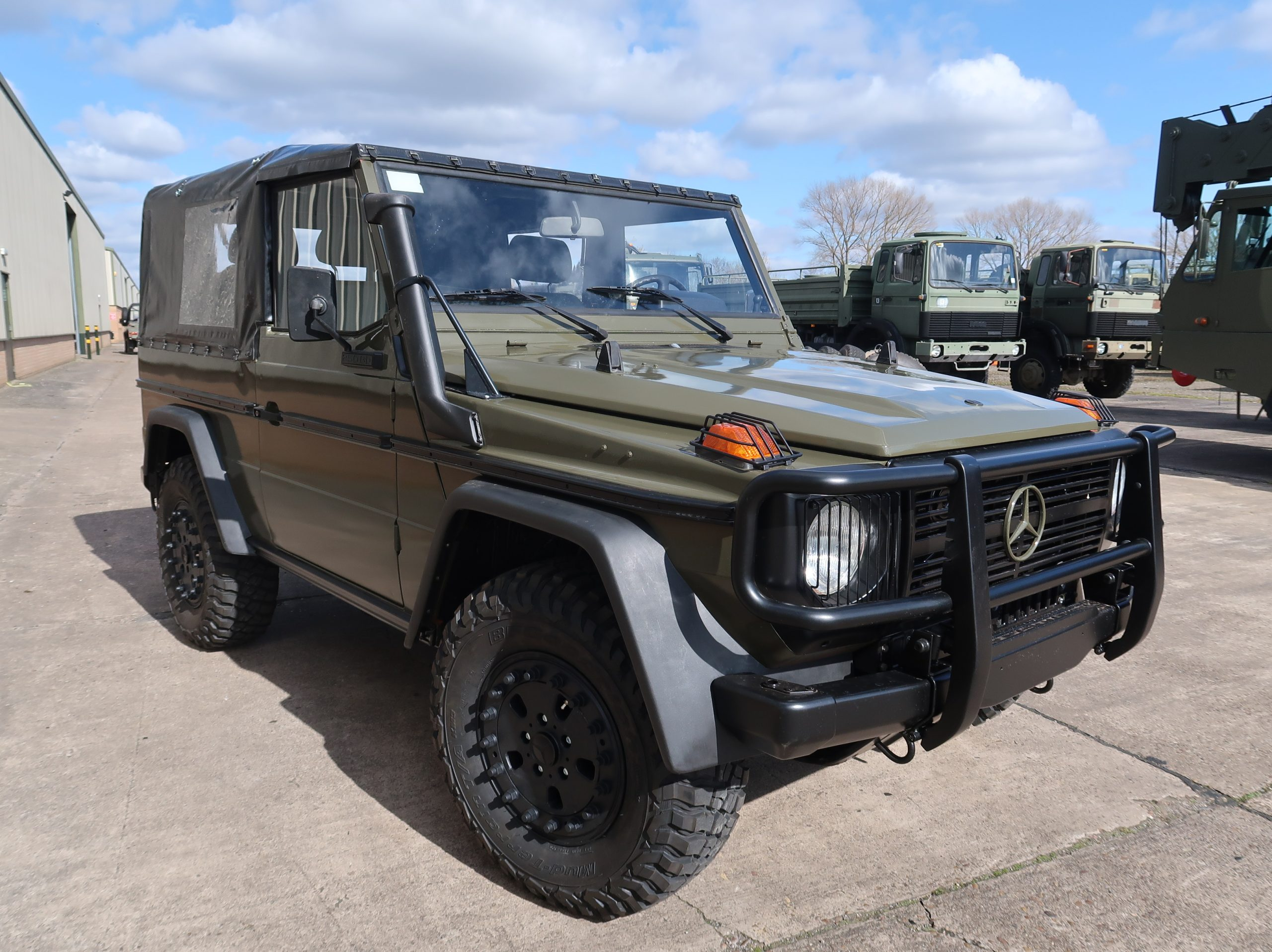 Mercedes G Wagon 250 Wolf lhd 4X4 for sale | military vehicles